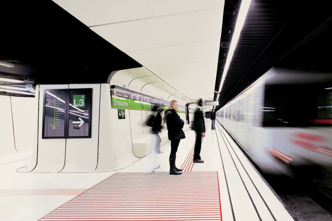 Smooth Operator (Drassanes metro station, Barcelona, Spain) | 공공