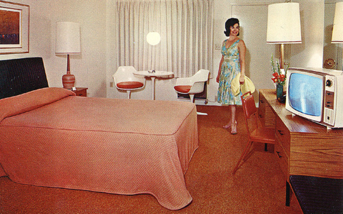 Rooms: BlackBook (Mid Century Modern Motel Postcards) Amazing