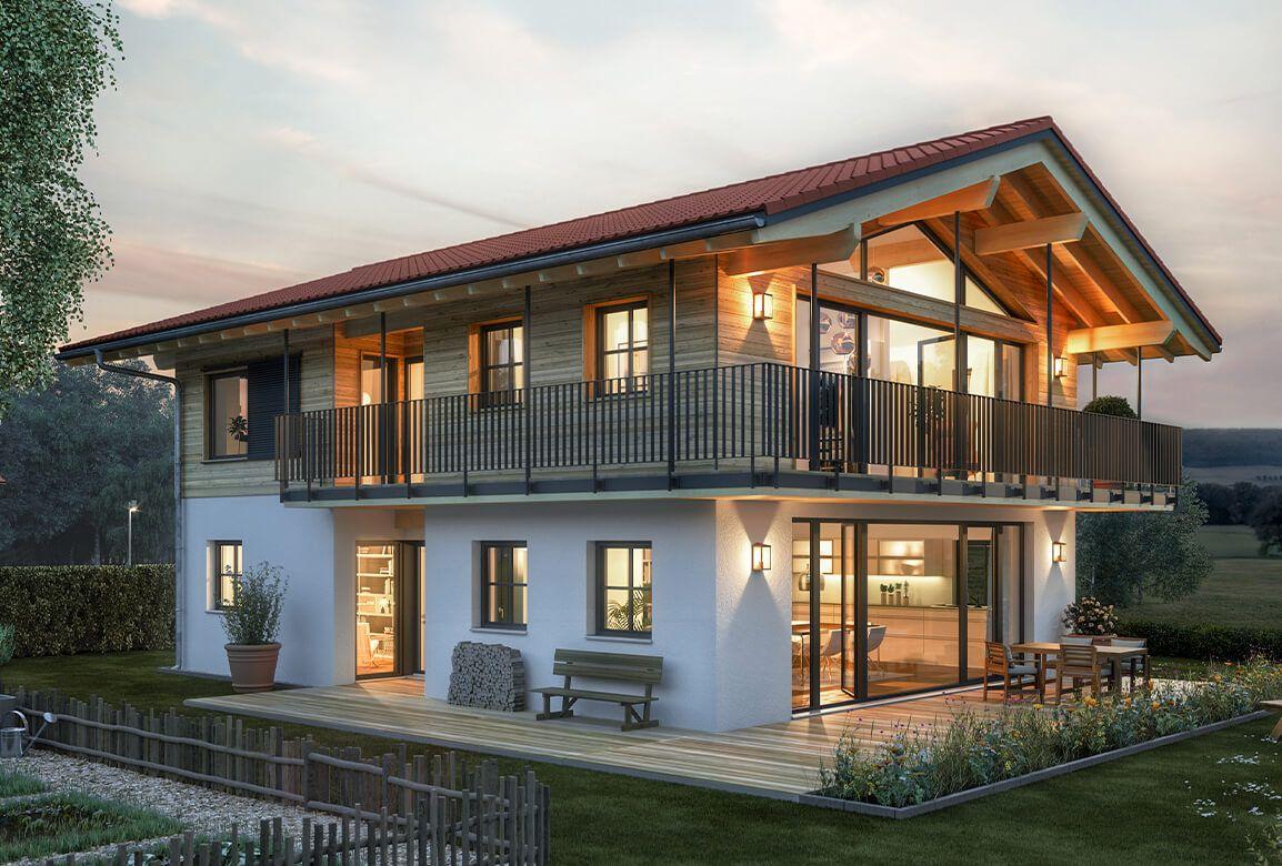 Regnauer Musterhaus Liesl #buildingahouse