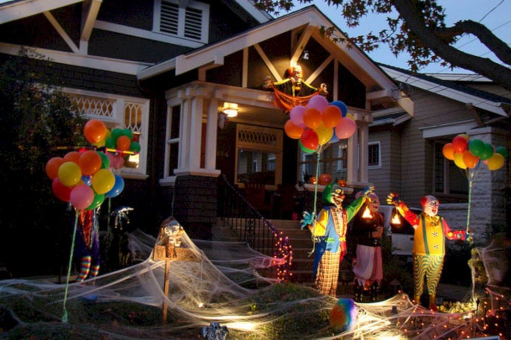 55+ Stunning Circus Halloween Decorations Ideas For Fun Halloween - circus halloween decorations