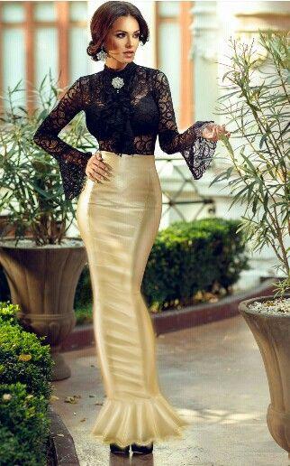 Shiney Satin Sissy Hobble Skirt Things To Wear