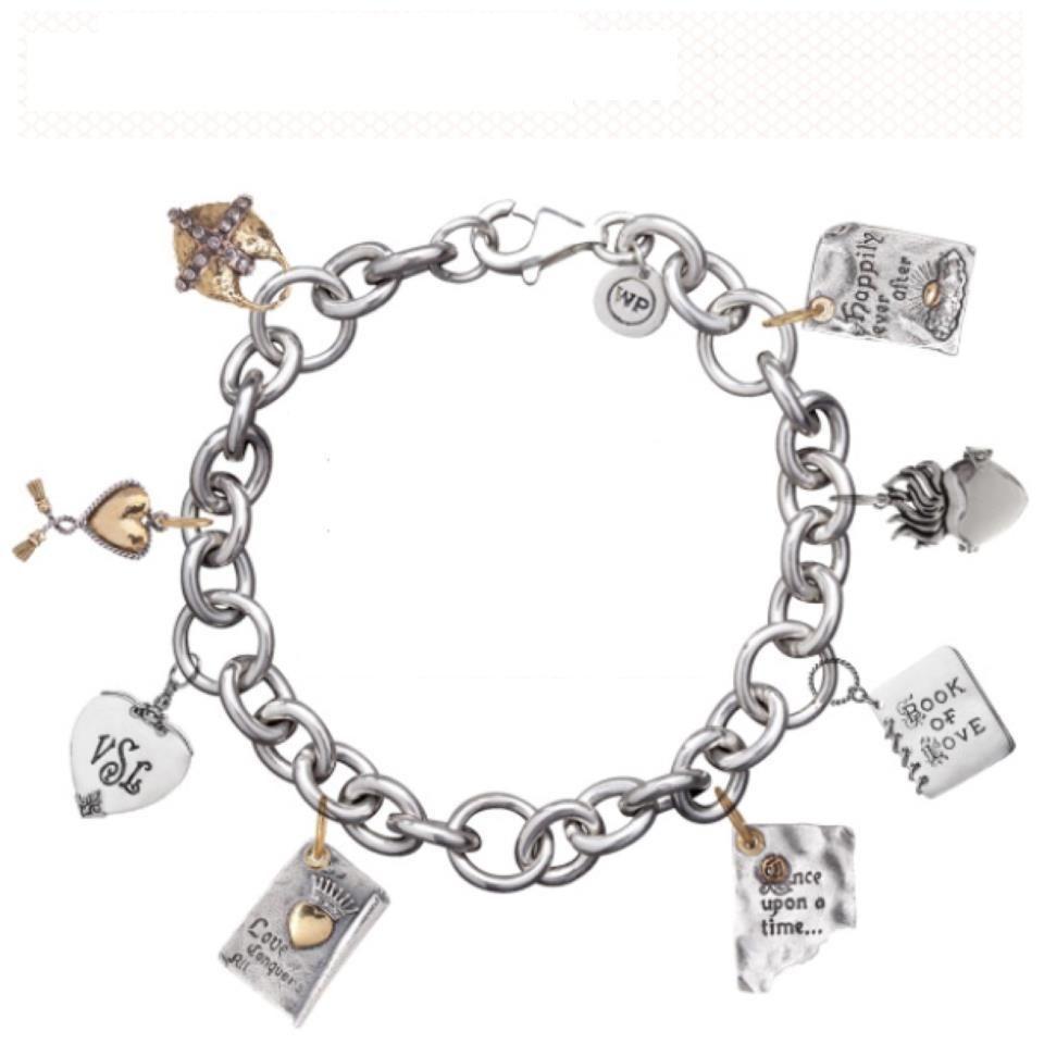 Hallmark Charm Bracelet: Grandco Sandals: Hallmark Bracelet Charms