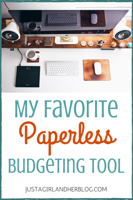 my favorite paperless budgeting tool pinterest budgeting tools