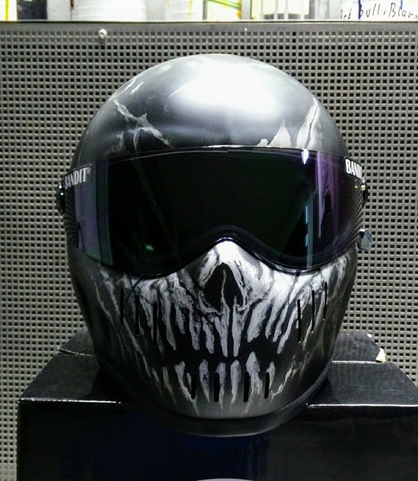 Awesome motorcycle helmet   Cool