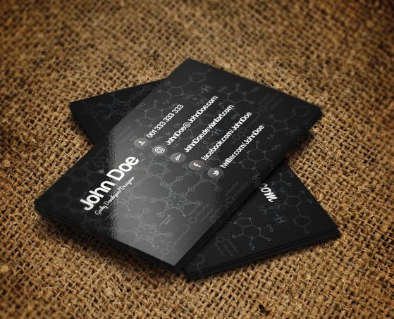 28 best free black and white psd business card templates design 28 best free black and white psd business card templates reheart Images