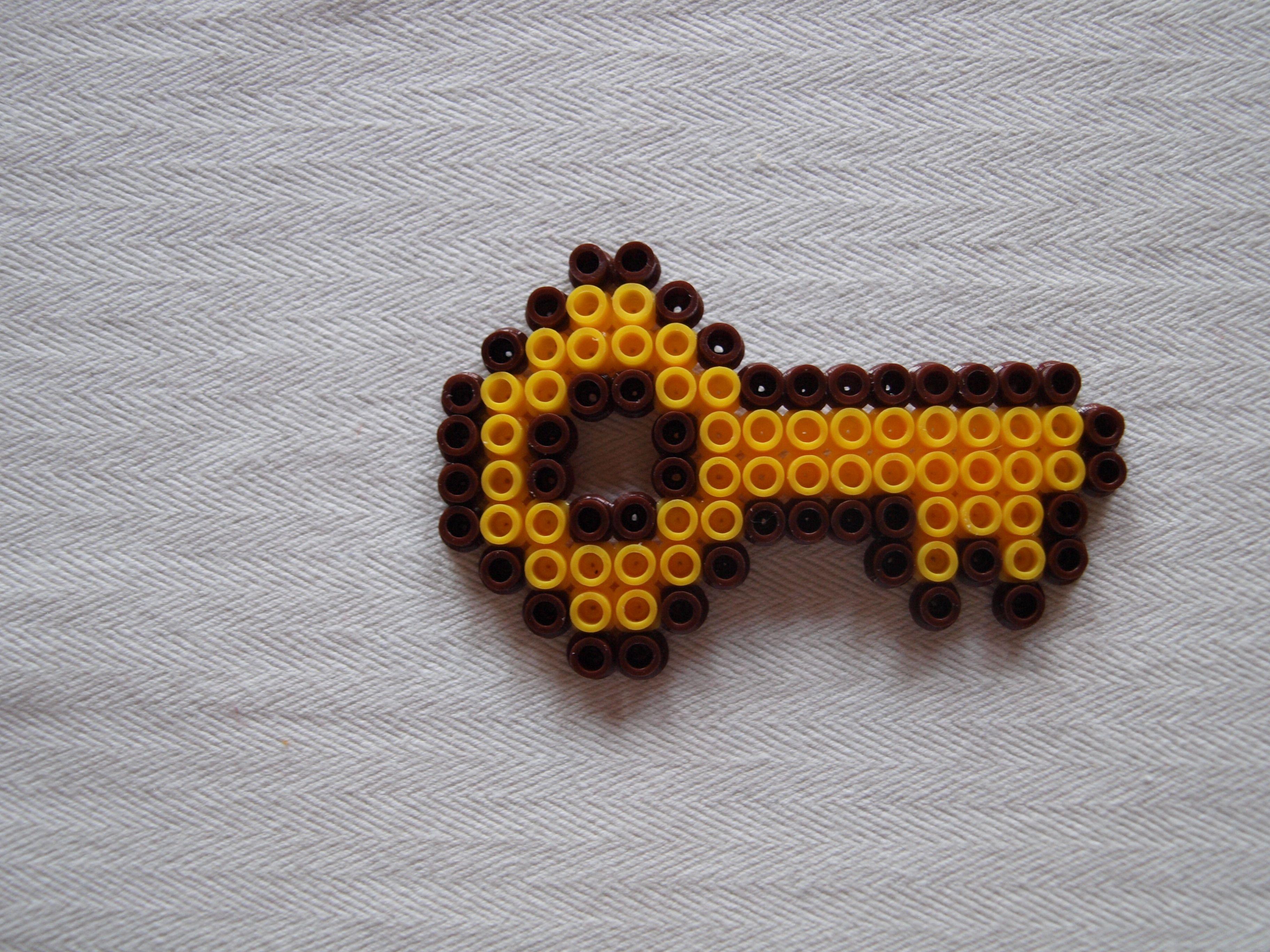 Schlüssel Aus Bügelperlen Kinderkram Pinterest Perler Beads