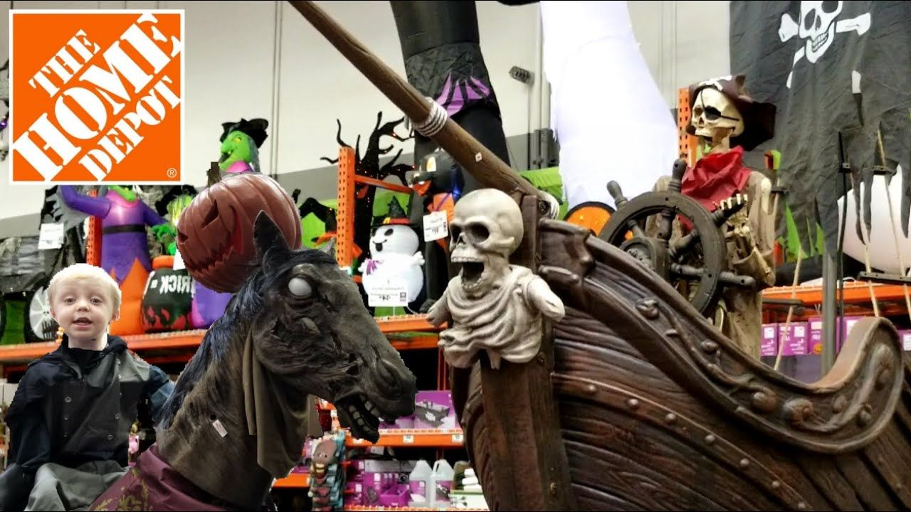 Halloween Decorations At The Home Depot Outdoor Indoor Halloween Home Decor Halloween 2019 Yo Home Depot Halloween Halloween House Halloween Home Decor