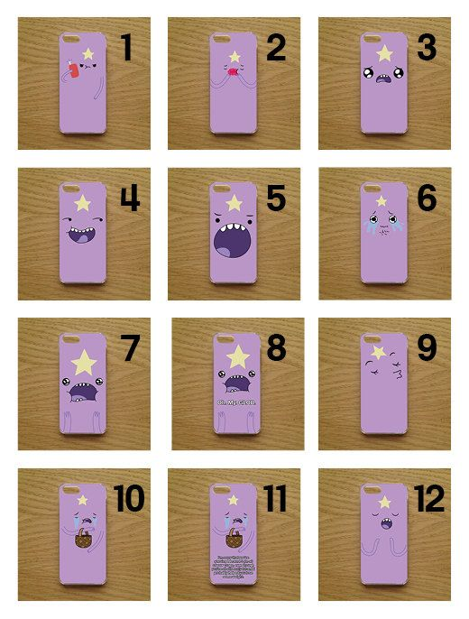 Adventure Time Lumpy Space Princess LSP Phone Case / Cover available for iPhones - 12 Designs