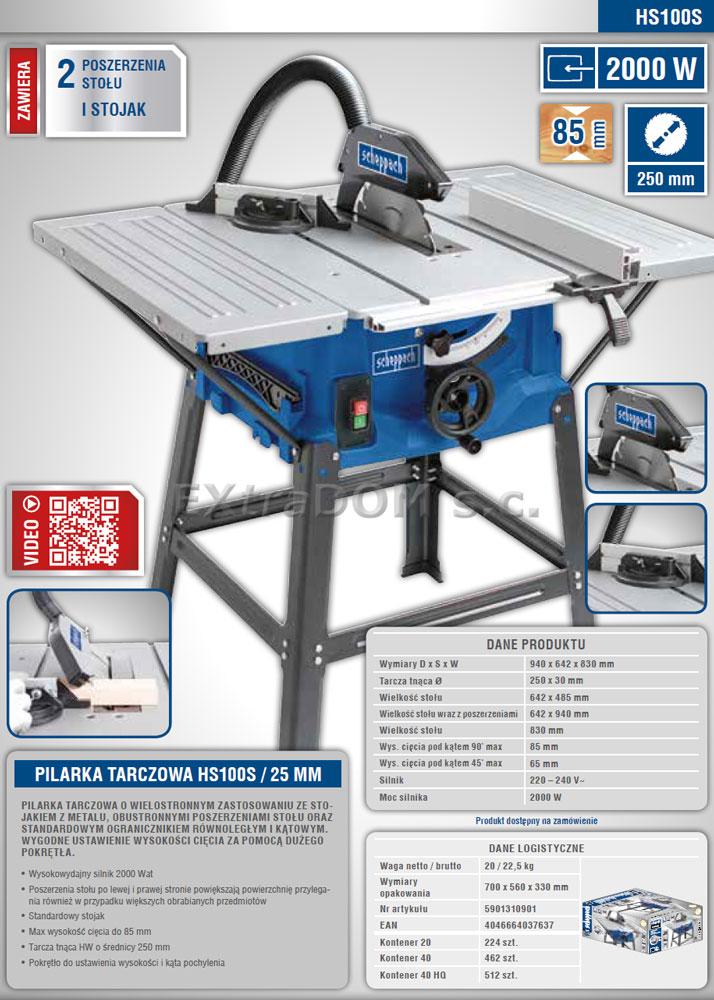 Pilarka Tarczowa Stolowa Scheppach 250mm 2000w 230v Hs100s Krajzega Przedluzacz Gratis Drafting Desk Desk Home Decor