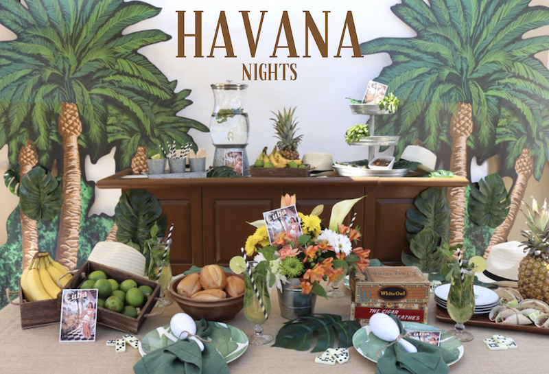 Photo of LAURA'S little PARTY: Celebrate Summer with a Havana Nights themed party!