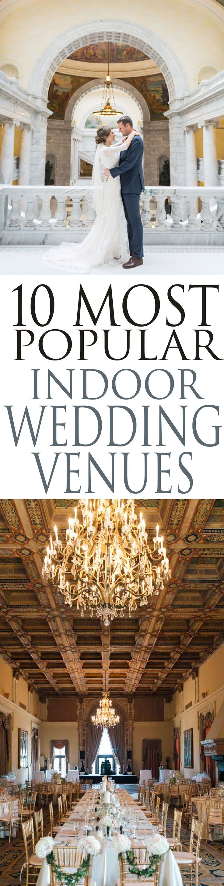 10 Beautiful indoor wedding venues that will make your day ...