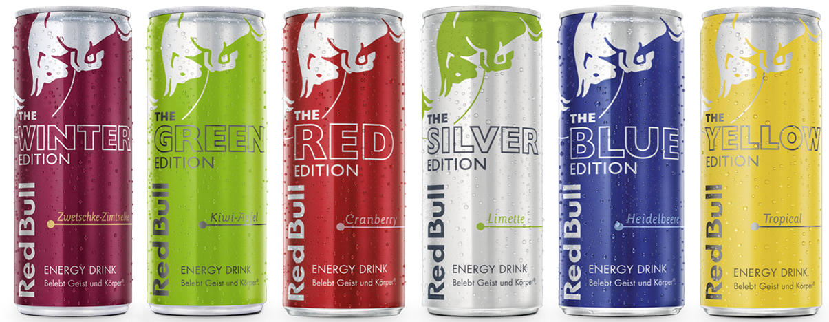 Red Bull Editions Energy Drink Red Bull Osterreich Red Bull Getranke Limetten Getranke