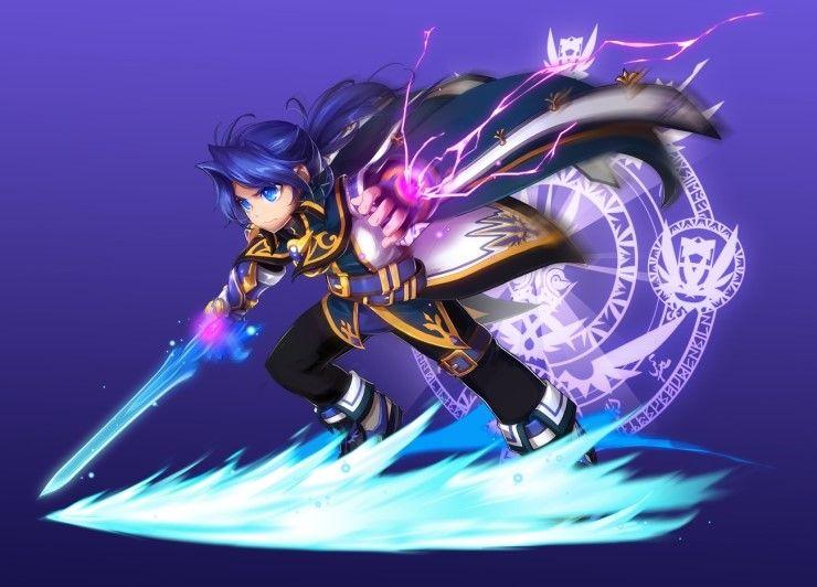 Grand Chase's Ronan Erudon   KOG Co , Ltd    Gaming   Anime