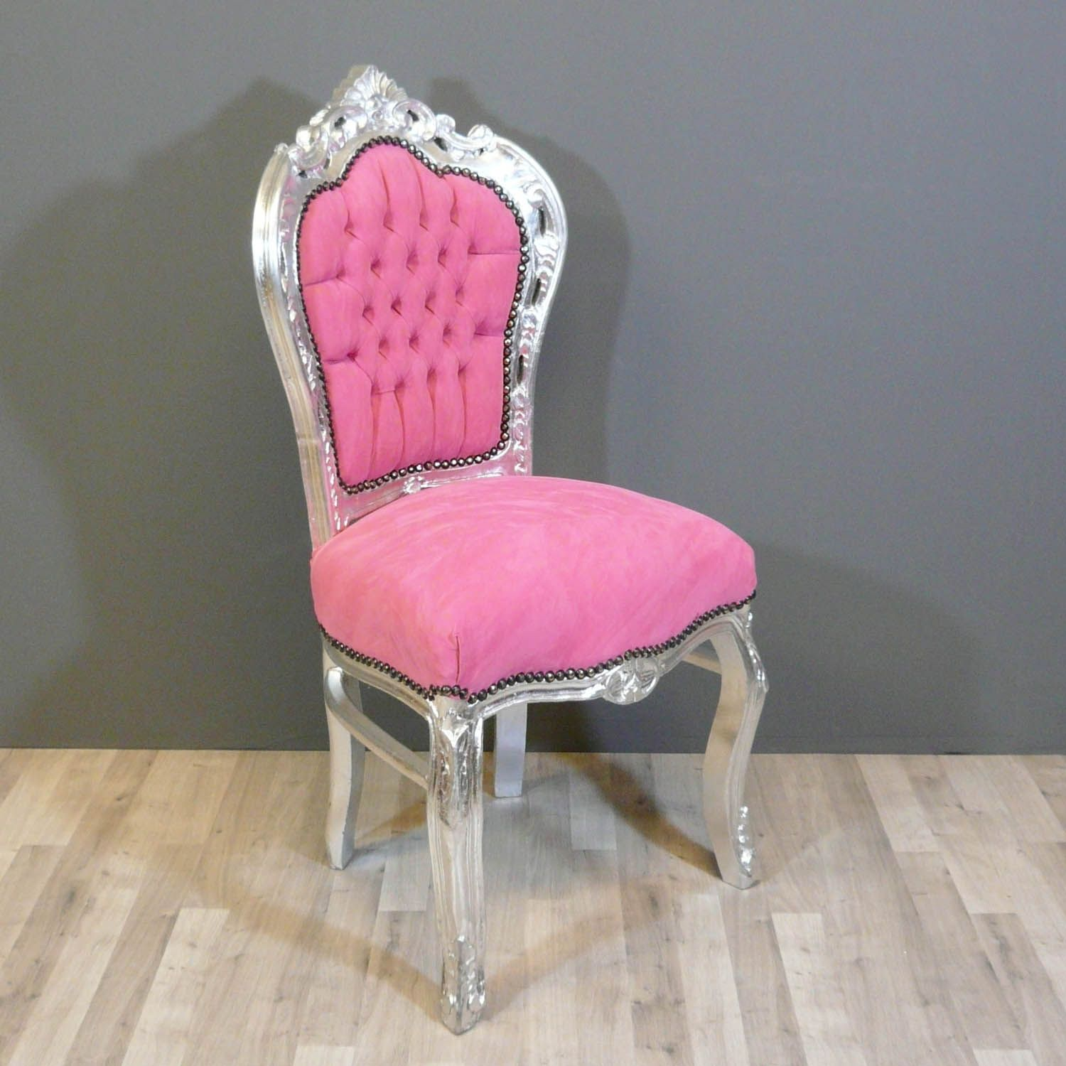 Chaise baroque rose pinterest meubles baroques chaise - Chaise baroque blanche ...