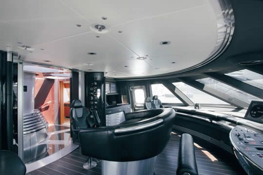 Maltese Falcon Control Room Luxury Sailing Yachts Sailing Yacht