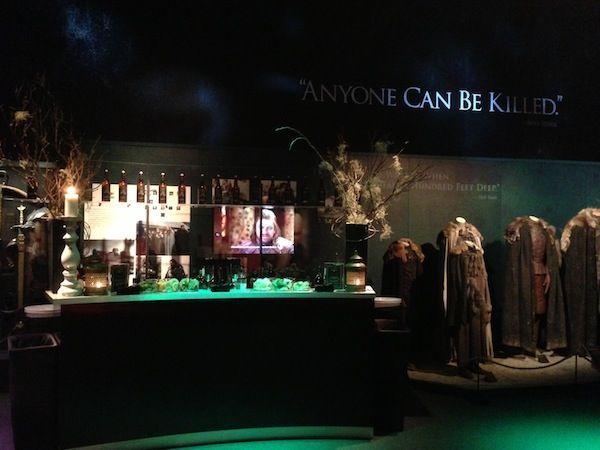 Game of Thrones Exhibition. would go over and over again!