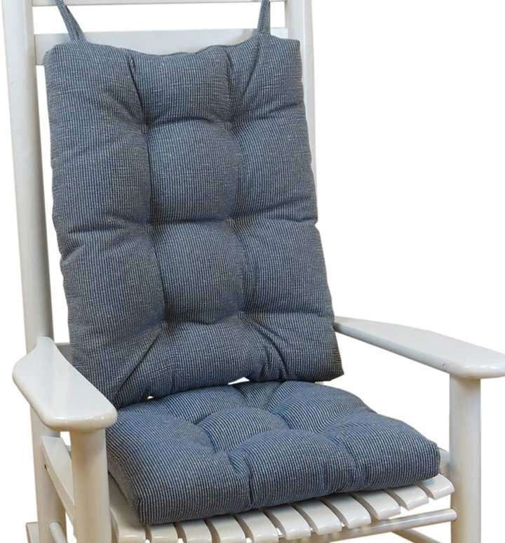 The Gripper Jumbo Rocking Chair Pad 2-pk.   Comfy leather ...