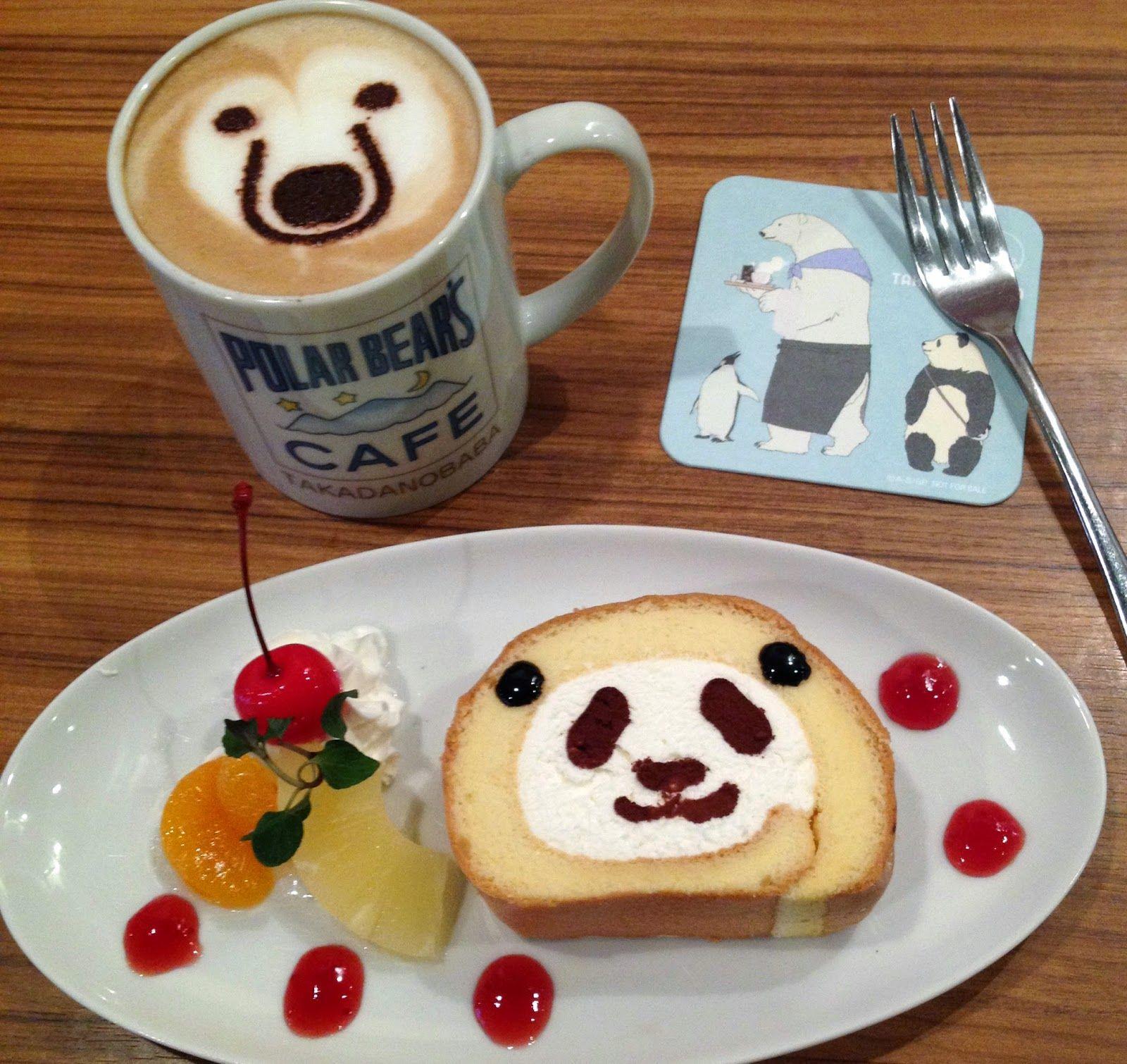 Shirokuma Café (Polar Bear's Café) - Takadanobaba, Tokyo, Japan