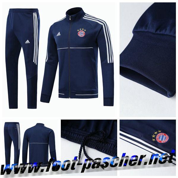 De Bayern Bleu Foot Survetement Chers Munich Les Moins Veste qwTfYxZtZ