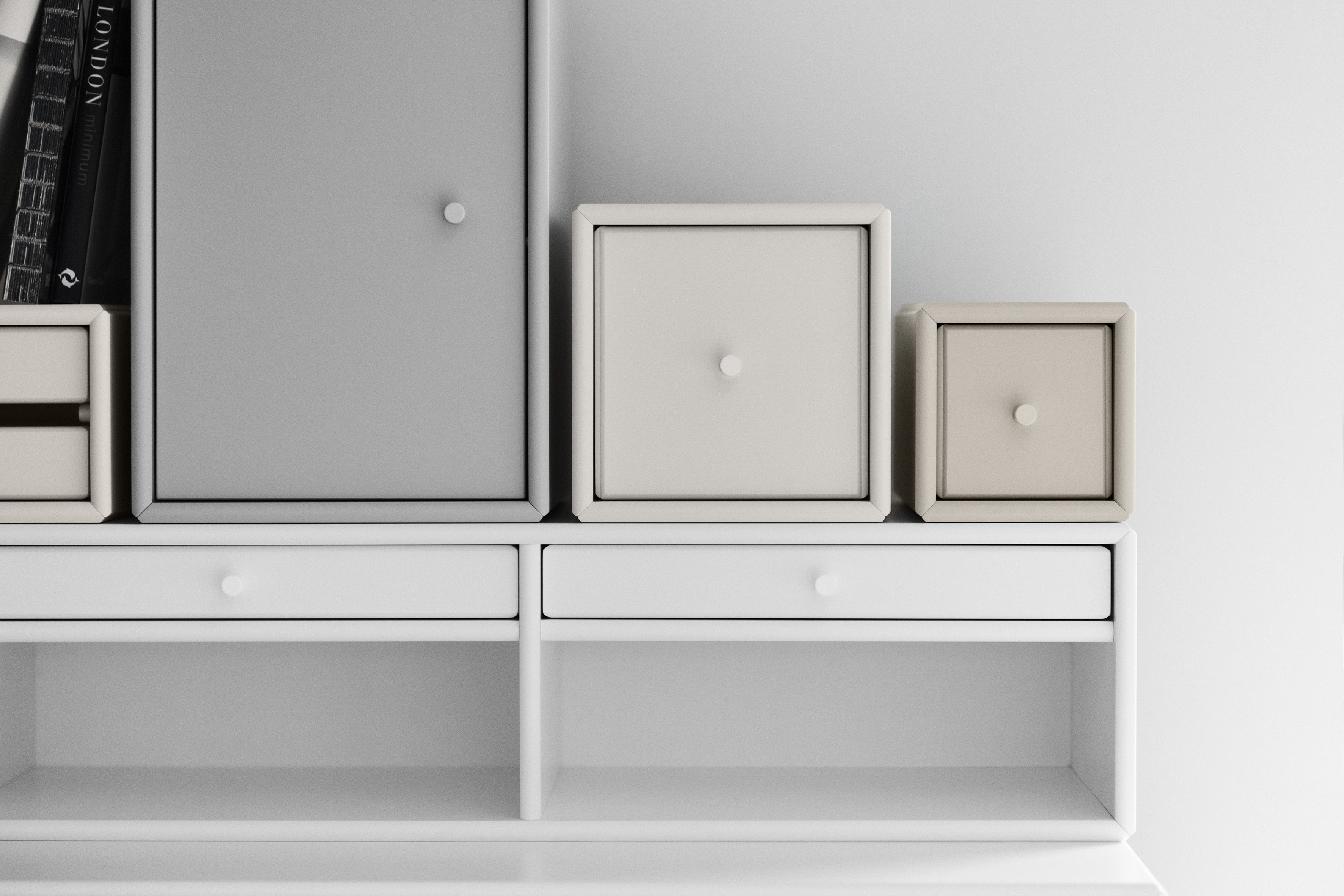 Secretive Cabinets In The Colours Nordic, Lounge And Latte #Montanafurniture