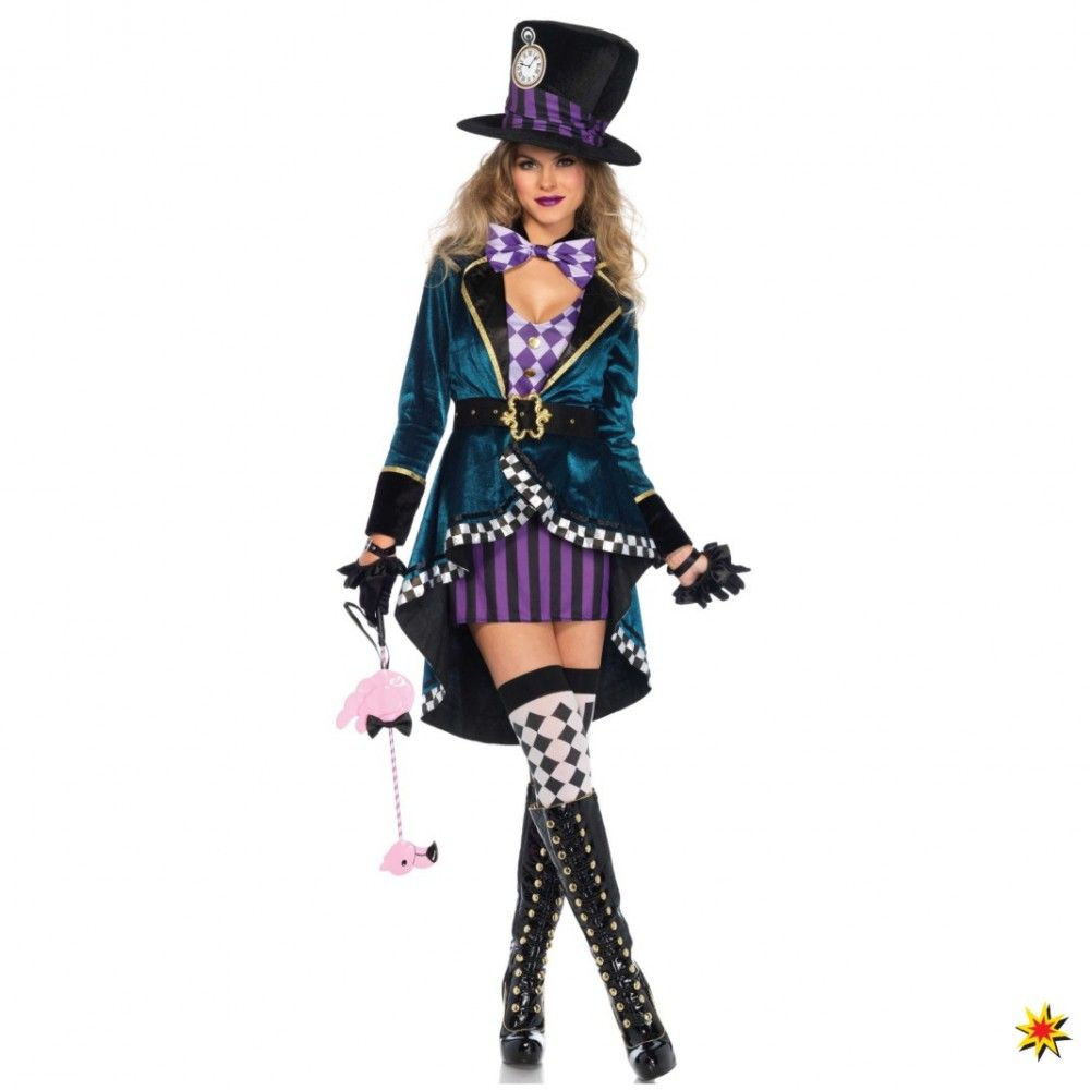 Damen Welttag des Buches Alice Im Wunderland Damenkostüm Kostüm Outfit