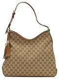 Gucci marrakech medium hobo camel brown