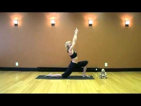 yoga full 30 minute routine easy beginner great