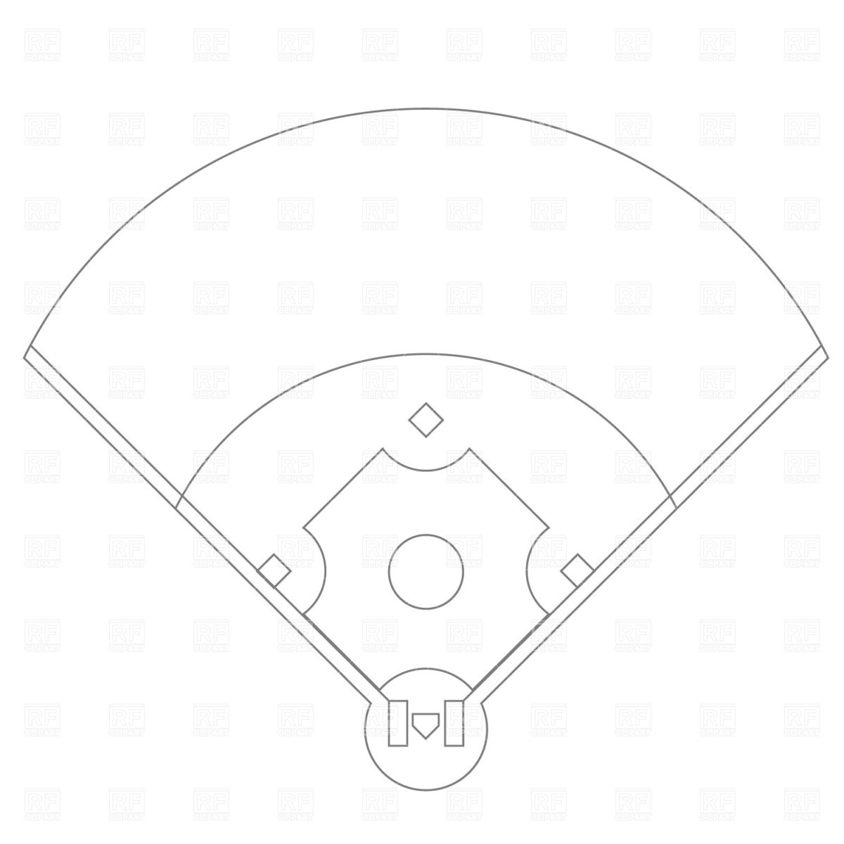 baseball field clip art free more at recipins com