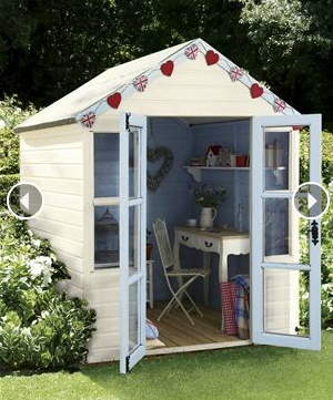 Garden Shed outdoor offices creative cute backyard shed Food