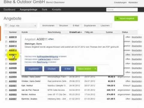 lexoffice - die schnellste Rechnungssoftware um eine Rechnungen zu schreiben. Aber lexoffice von Lexware ist mehr als nur ein Rechnungsprogramm. Es ist vielmehr eine Unternehmenssoftware, mit der Sie Ihre komplette Buchhaltung abwickeln können.  www.lexoffice.de  Vom Marktführer Lexware
