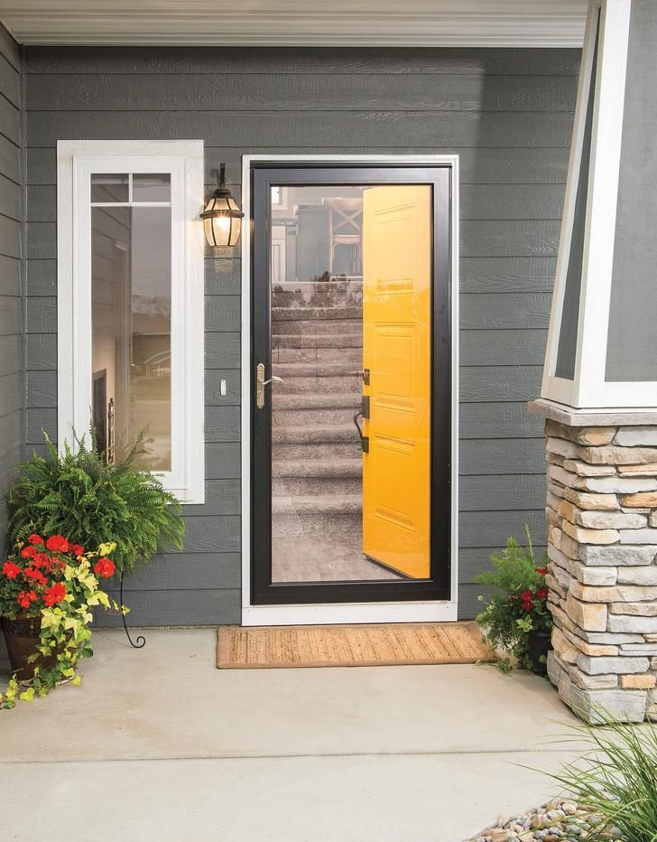 Enhance Your Entryway This Summer With A New Pella Storm Door