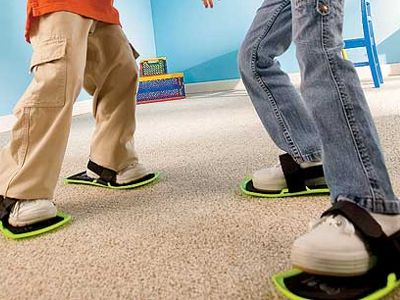Carpet Sliders: U201cRemember, The Carpet Isnu0027t Magic Itu0027s YOU Thatu0027s Flying.  Across The Carpet Like A Streak Of Speed! Take A Commanding Early Lead.