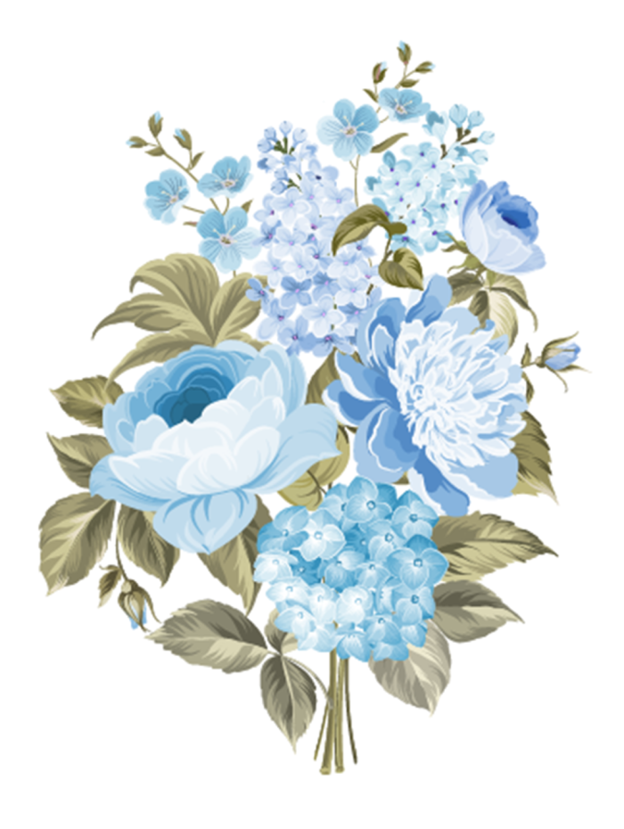 A Beautiful Flower Blue Flower Wallpaper Flower Drawing Blue Flowers Background