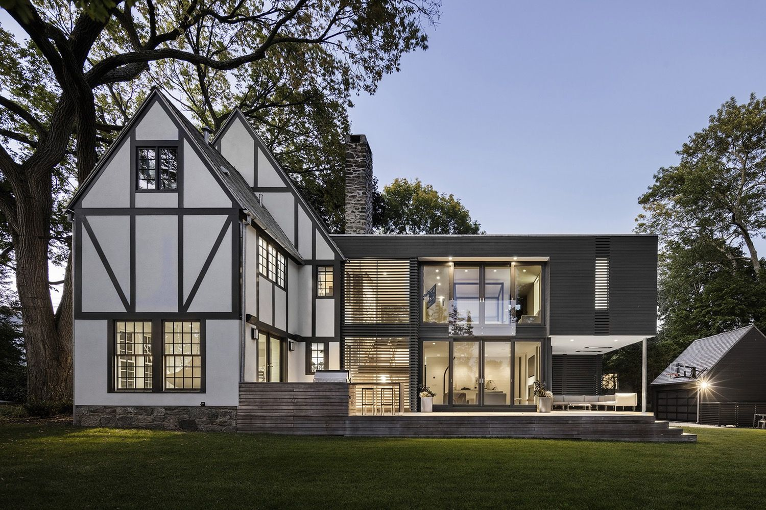business in the front, party in the back 5 traditional homes thatbusiness in the front, party in the back 5 traditional homes that got super modern additions \u2014 dwell