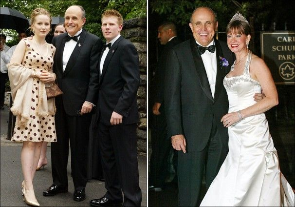 The Political Career Of Rudy Giuliani Celebrity Weddings Celebrity Couples Famous Couples