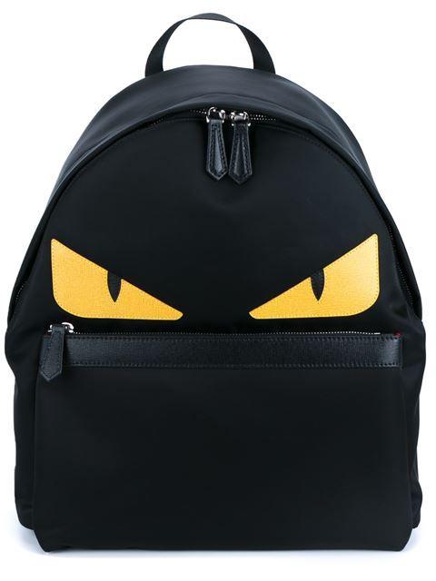 FENDI Bag Bugs Backpack.  fendi  bags  leather  polyester  nylon  backpacks 3a38029368778