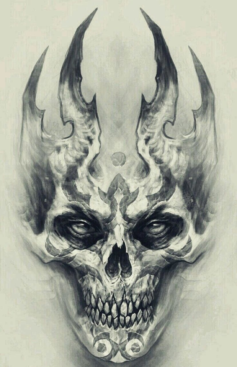 Pin By Westcallacycles On Poster Pictures Scary Tattoos Skull Tattoos Skull Tattoo Design