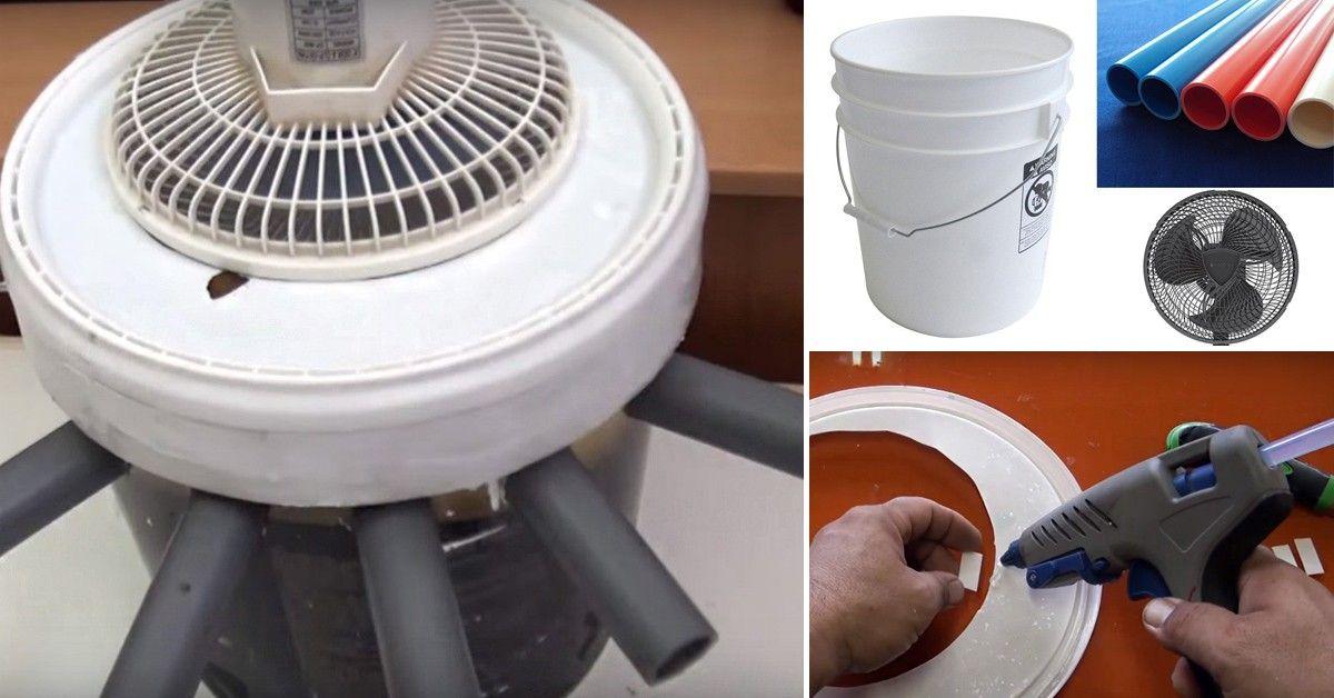 C mo hacer un aire acondicionado casero reciclado y port til - Aire condicionado portatil ...