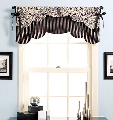 Fast Easy Reversible Valances Valance Window Treatments