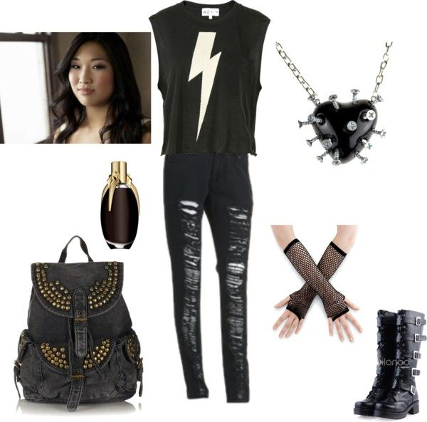 """""""Tina"""" by music-gleek16 ❤ liked on Polyvore"""