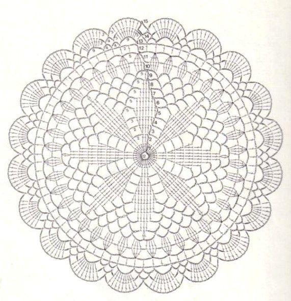 dessous de verre 2... | Doilies!! | Pinterest | Crochet, Minis and ...