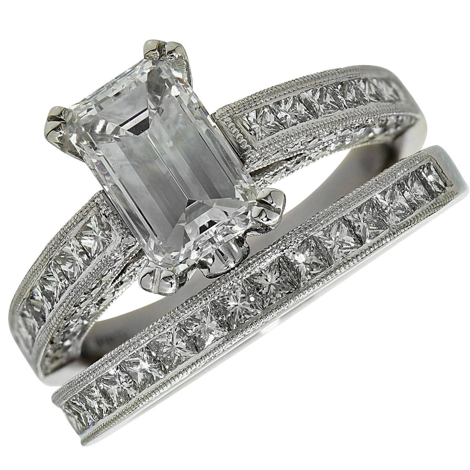 diamond engagement pin natalie platinum k set carat wedding rings gia cert