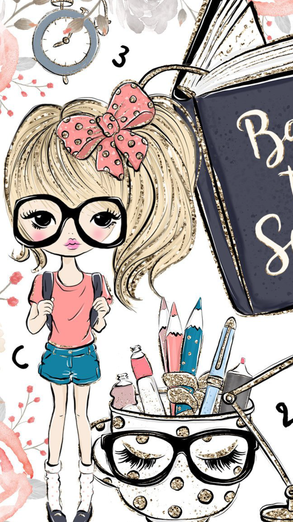 Pin By Caitlyn Johnson On Wallpapers Girly Art Art Cute Drawings