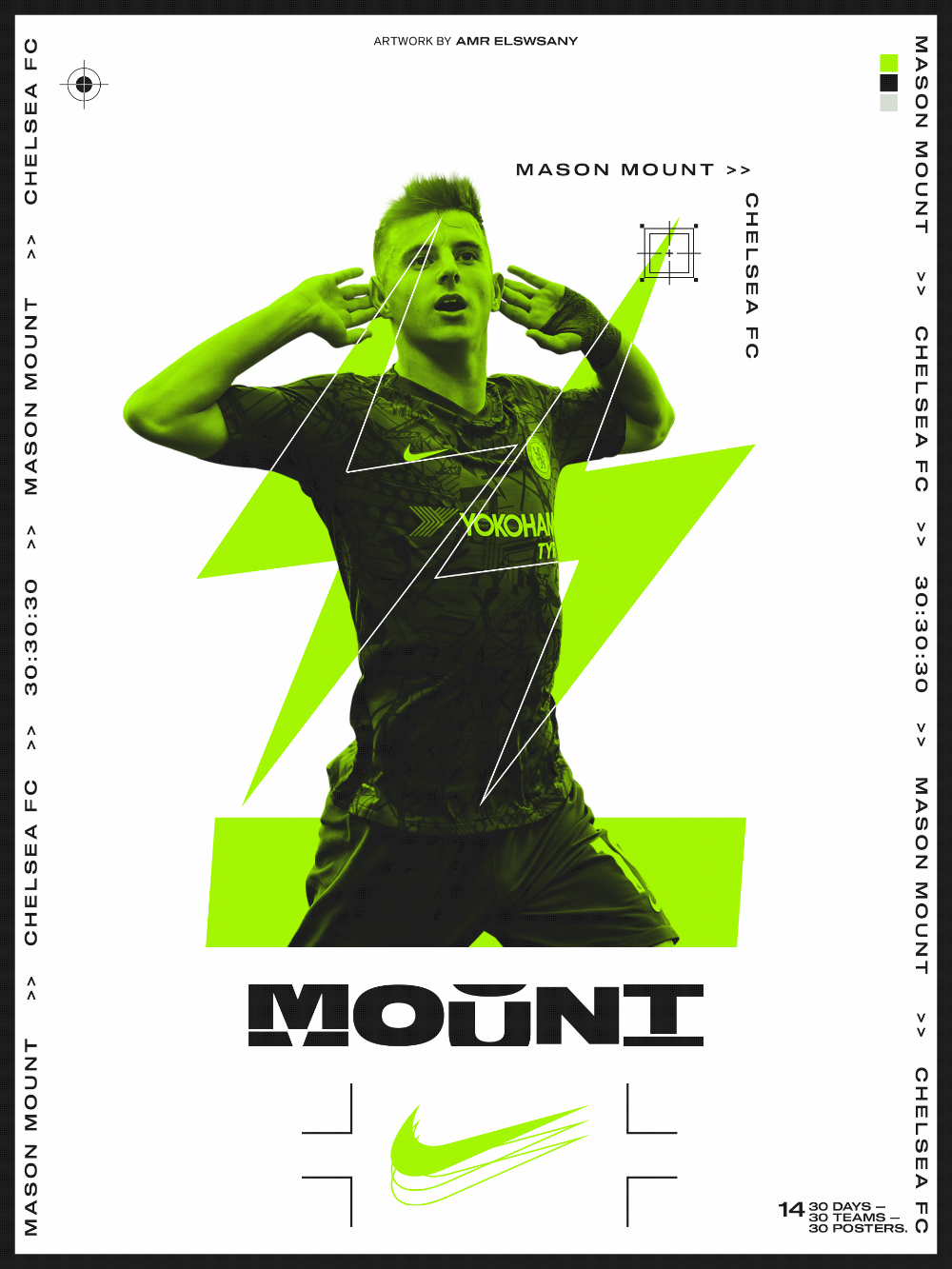 30 Days 30 Teams 30 Posters Soccer Posters On Behance In 2020 Soccer Poster Sports Graphic Design Sports Design