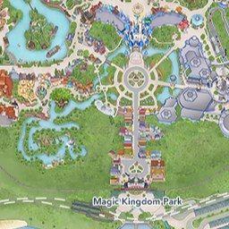 Disney\'s Animal Kingdom - Interactive Map | Disney\'s Magic ...