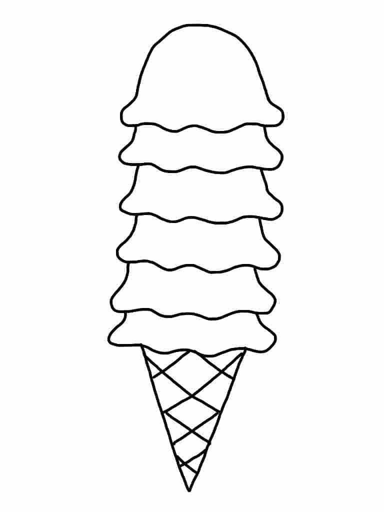 Ice Cream Coloring Page Inspirational Printable Coloring Pages Ice Cream Cone Huangfeifo Ice Cream Coloring Pages Free Coloring Pages Candy Coloring Pages