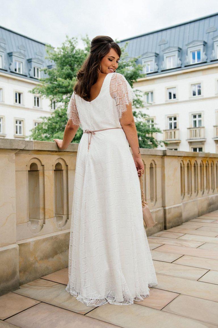 Plus Size Brautkleid von küssdiebraut für Curvy Brides in ...