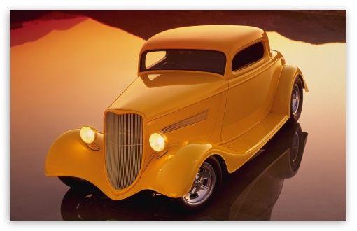Classic Hot Rod Car Hd Desktop Wallpaper Widescreen High Definition Fullscreen Mobile Hot Rods Cars Classic Hot Rod Hot Rods