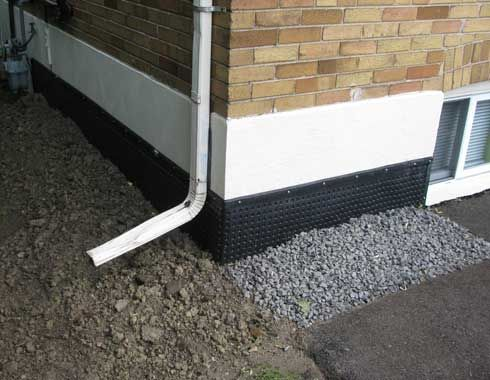 the most effective basement wall method is exterior see step by step exterior