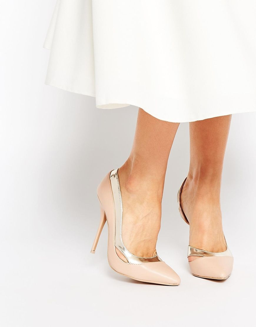 Paper Dolls Cut Out Court Shoes